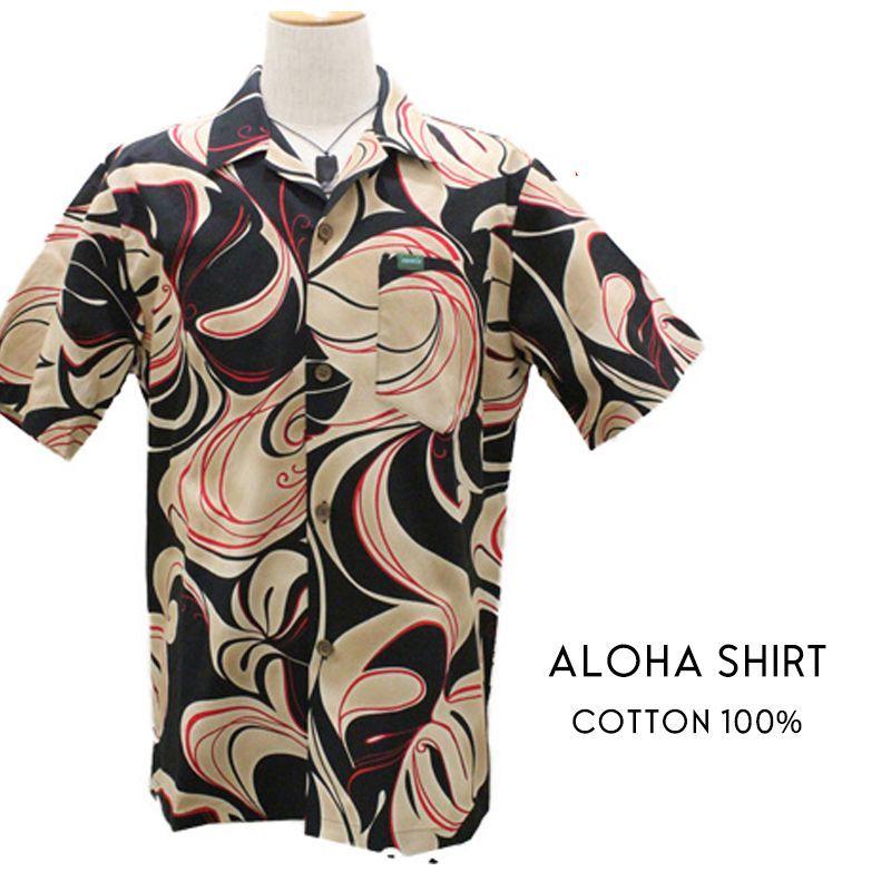 画像1: 【 HULA 】ALOHAシャツ  COTTON (1)