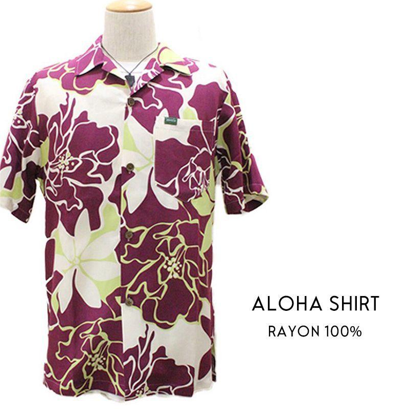 画像1: 【 HULA 】ALOHAシャツ  RAYON (1)