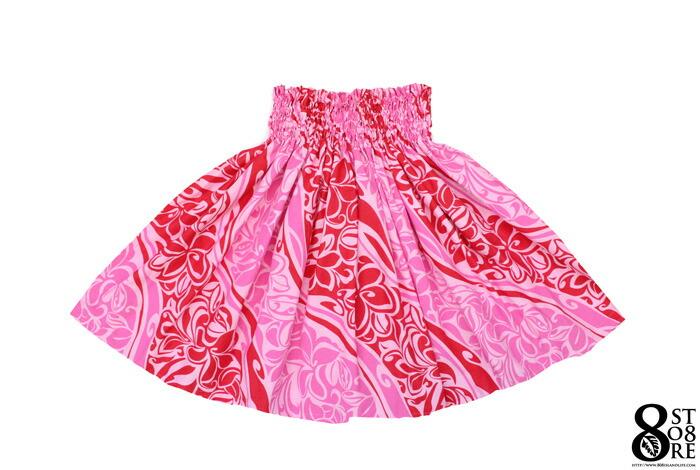 画像1: 【 HULA 】pau スカート パウスカート ピンク (1)