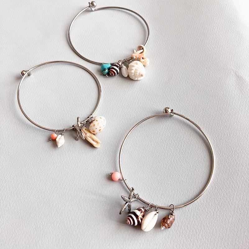 画像1: 【Made in Hawaii 】shell bracelet  (1)