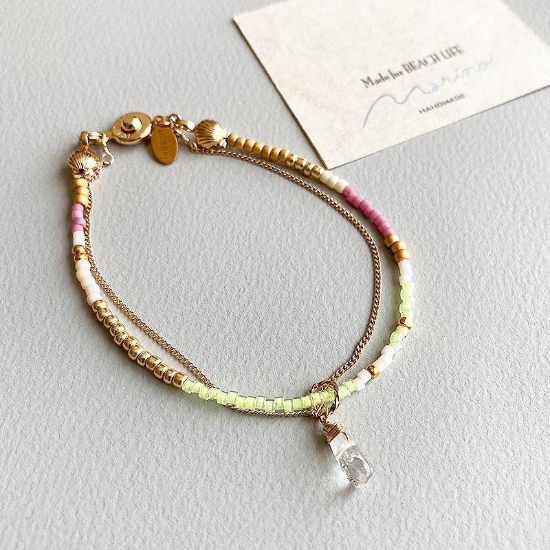 画像1: 【marino accessories】 beads bracelet (1)