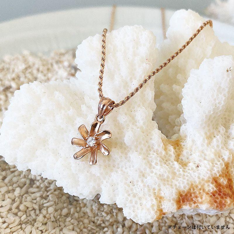 画像1: 【ハワイアンジュエリー】14K Tiare necklace top (1)