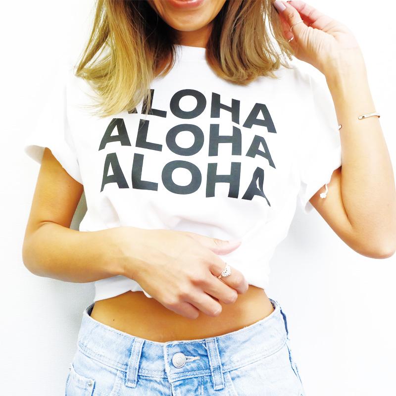 画像1: 【50%off SALE】オリジナル ALOHA TEE 2018モデル (1)