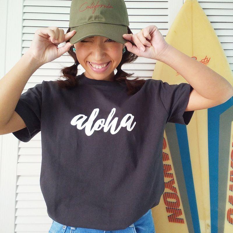画像1: オリジナル Tシャツ 【ALOHA 2017年冬モデル】【aloha】大人S~XXL (1)