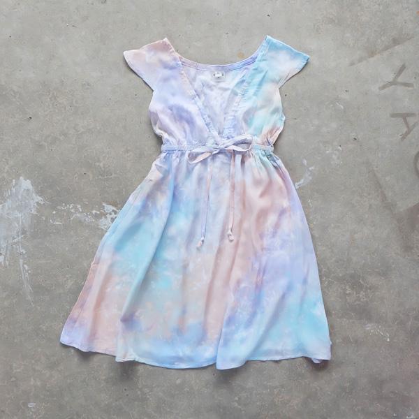 画像1: 【SALE】Kids ドレス /No.1 / XS/S【ネコポスOK】 (1)