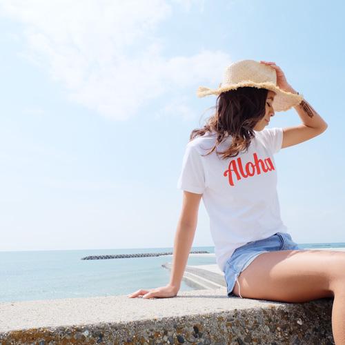 画像1: 【50%off SALE】オリジナル AlohaTシャツ 【 2017年夏モデル】 (1)