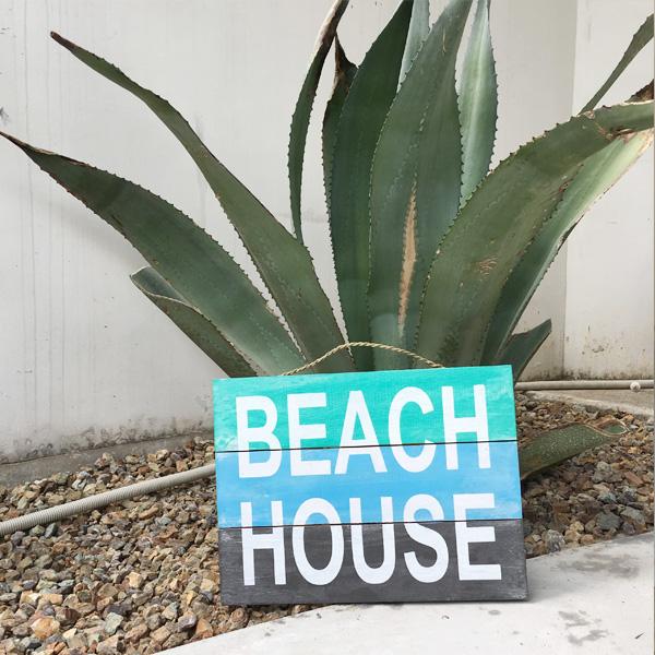 画像1: 【SALE】 BEACH HOUSE メッセージボード (1)
