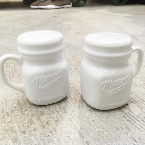 画像1: 【再販】Mason Jar ソルト&ペッパー ボトル (1)