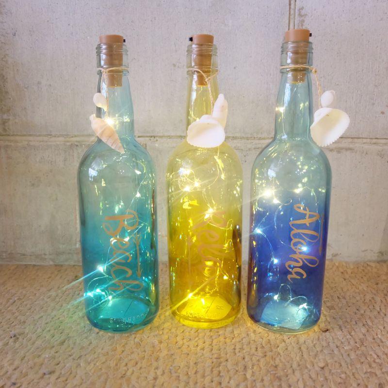 画像1: SALE!! グラデーションLEDボトルライト (1)